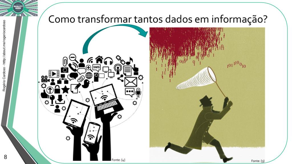 Como transformar tantos dados em informação? Ro...
