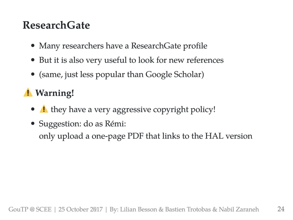 ResearchGate Many researchers have a ResearchGa...