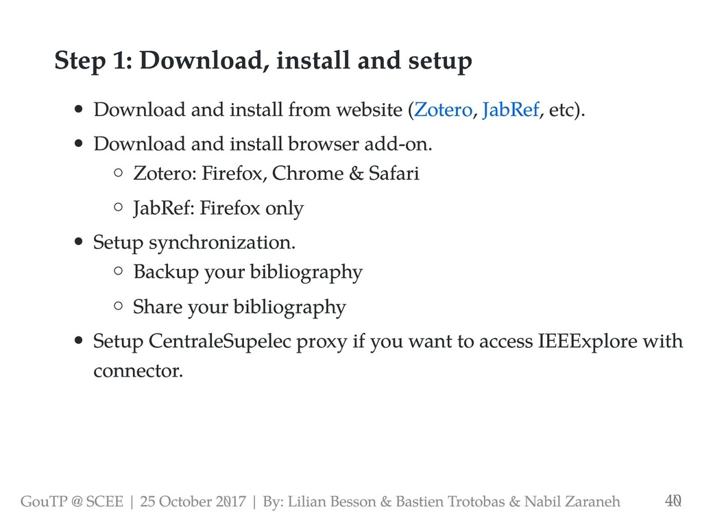 Step 1: Download, install and setup Download an...