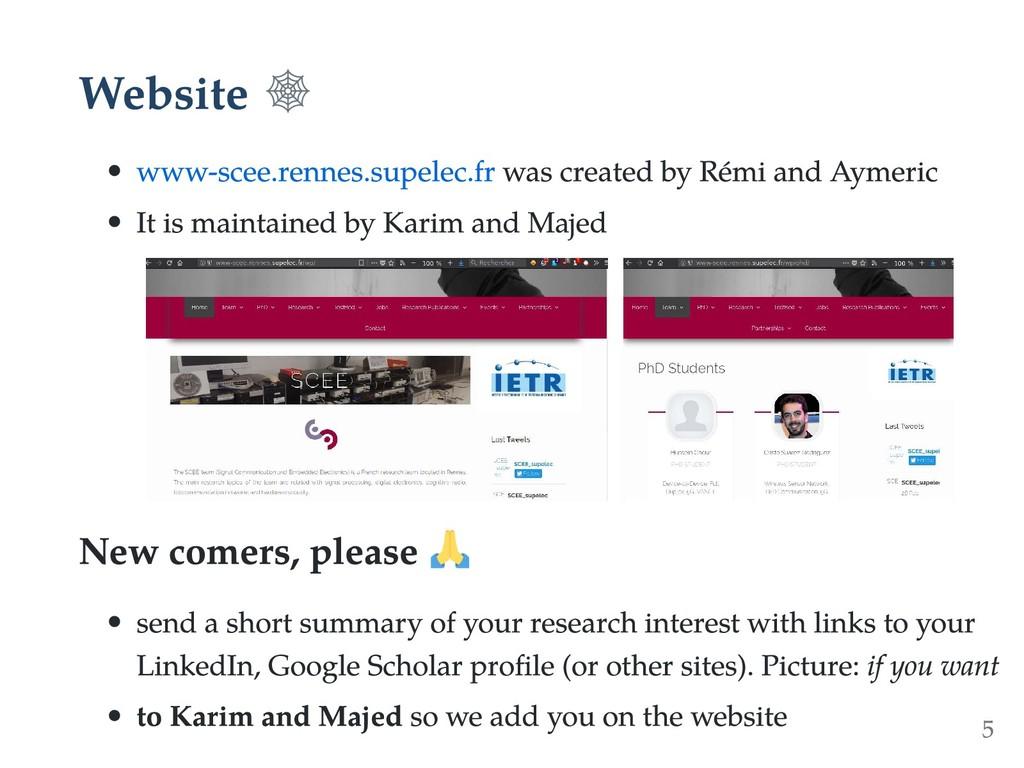 Website www-scee.rennes.supelec.fr was created ...
