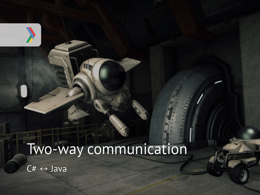 Two-way communication C# ↔ Java