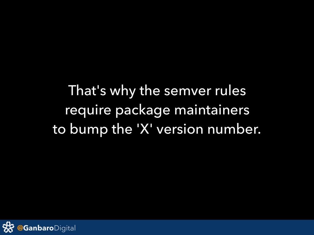 @GanbaroDigital That's why the semver rules req...