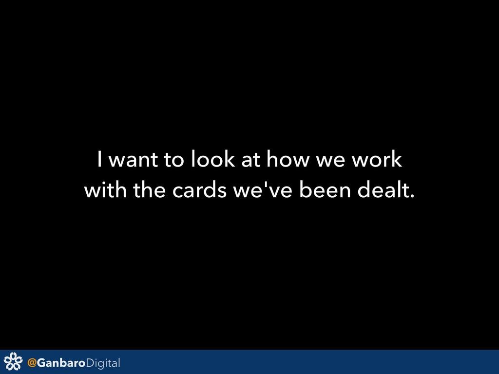 @GanbaroDigital I want to look at how we work w...