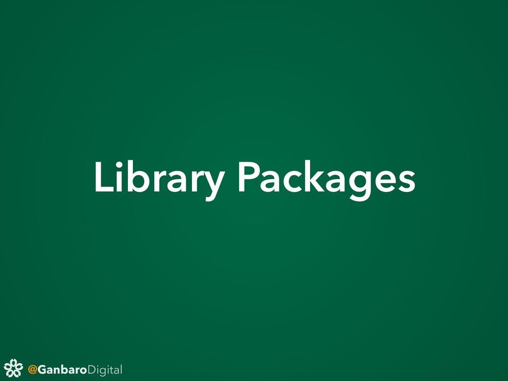 @GanbaroDigital Library Packages