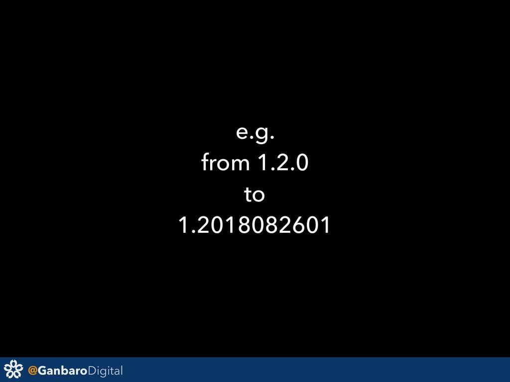 @GanbaroDigital e.g. from 1.2.0 to 1.2018082601