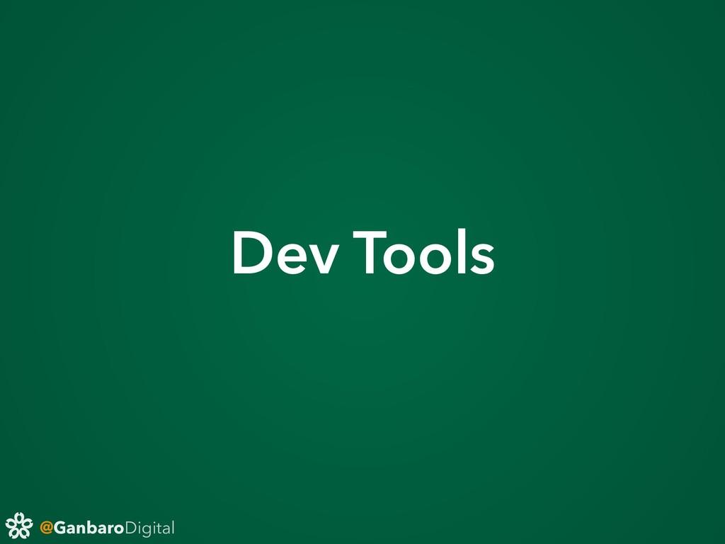 @GanbaroDigital Dev Tools