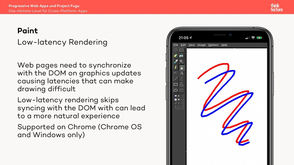 Low-latency Rendering Paint Web pages need to s...