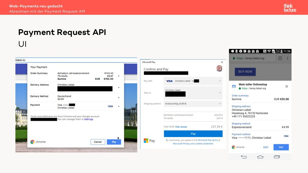 UI Web-Payments neu gedacht Abrechnen mit der P...