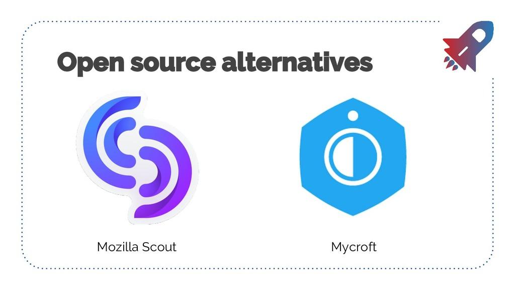 Mozilla Scout Mycroft