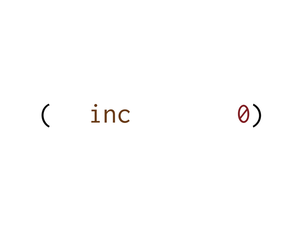 ( 0) inc