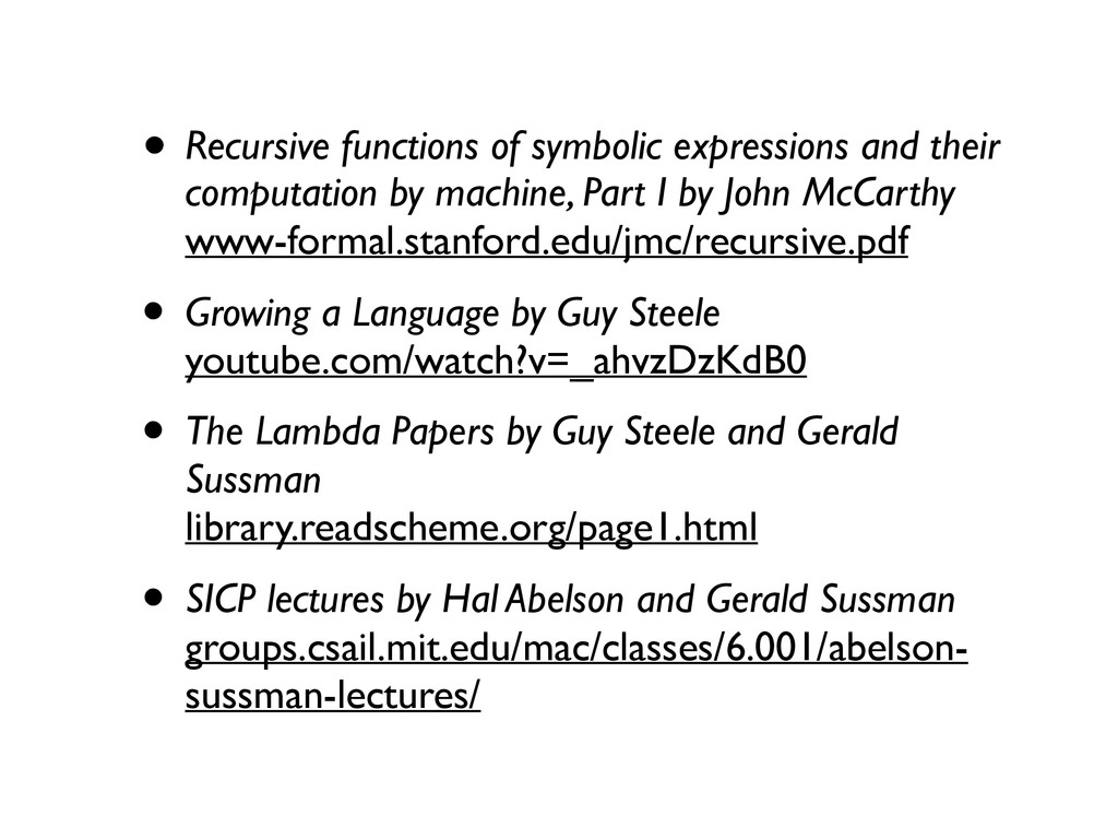 • Recursive functions of symbolic expressions a...