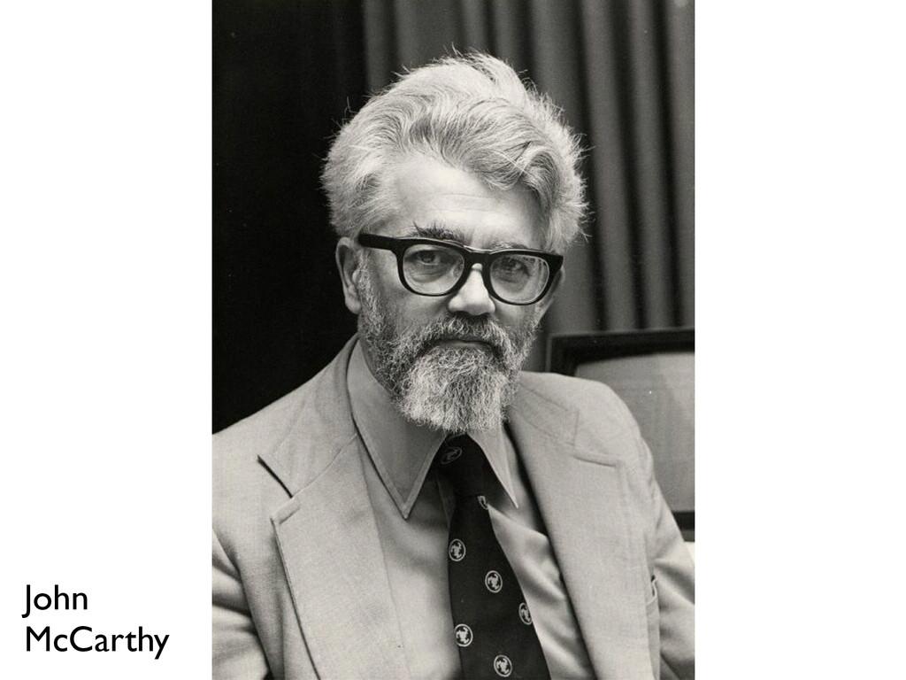 John  McCarthy