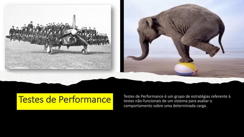 Testes de Performance