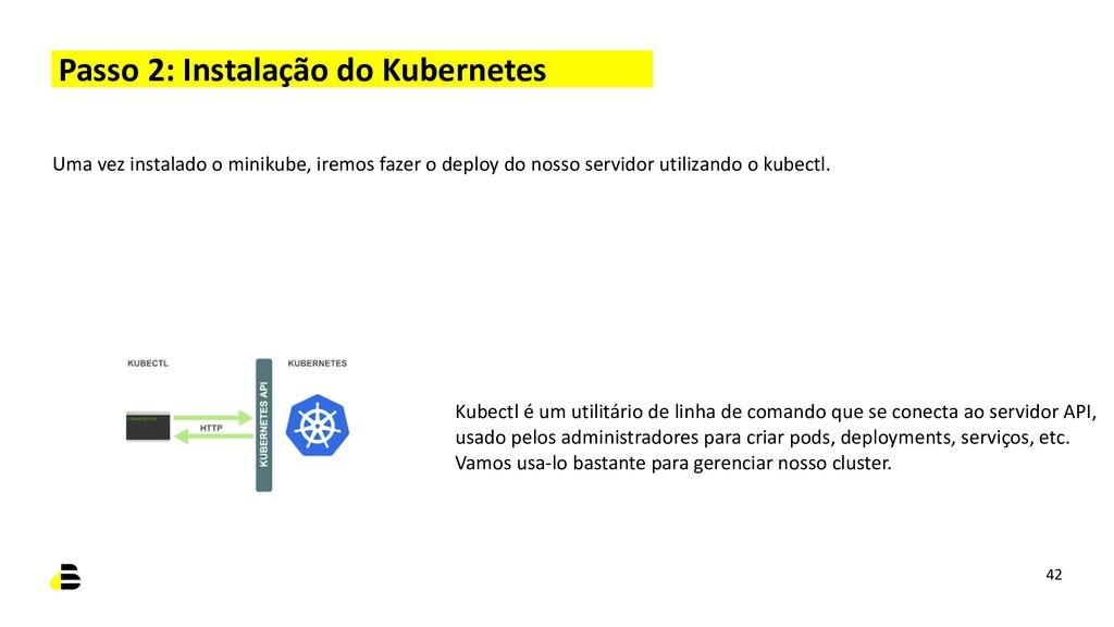 Passo 2: Instalação do Kubernetes Kubectl é um ...