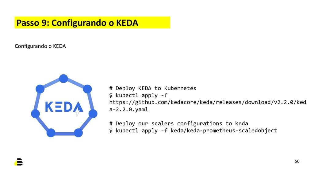 Passo 9: Configurando o KEDA 50 Configurando o ...