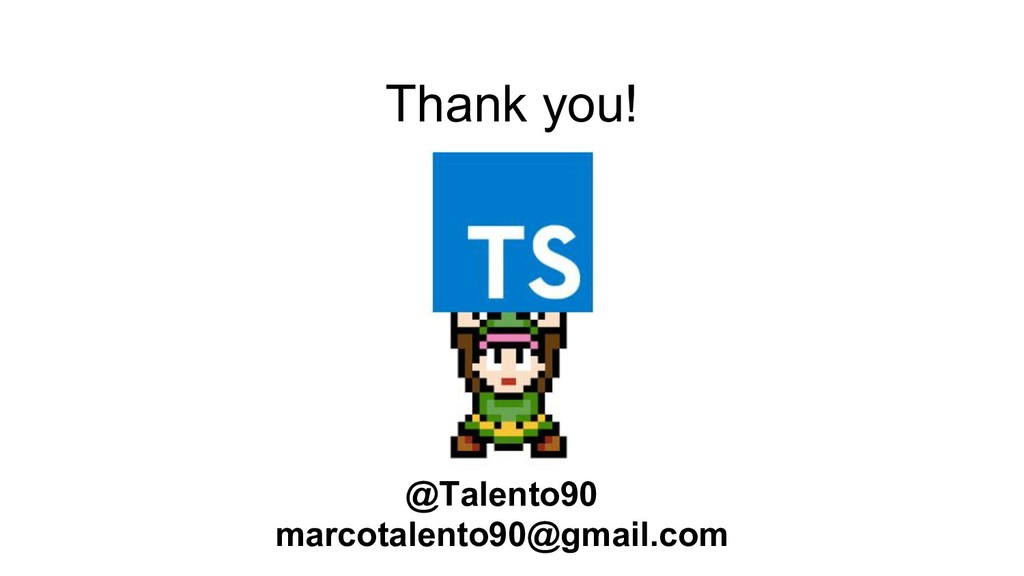 Thank you! @Talento90 marcotalento90@gmail.com