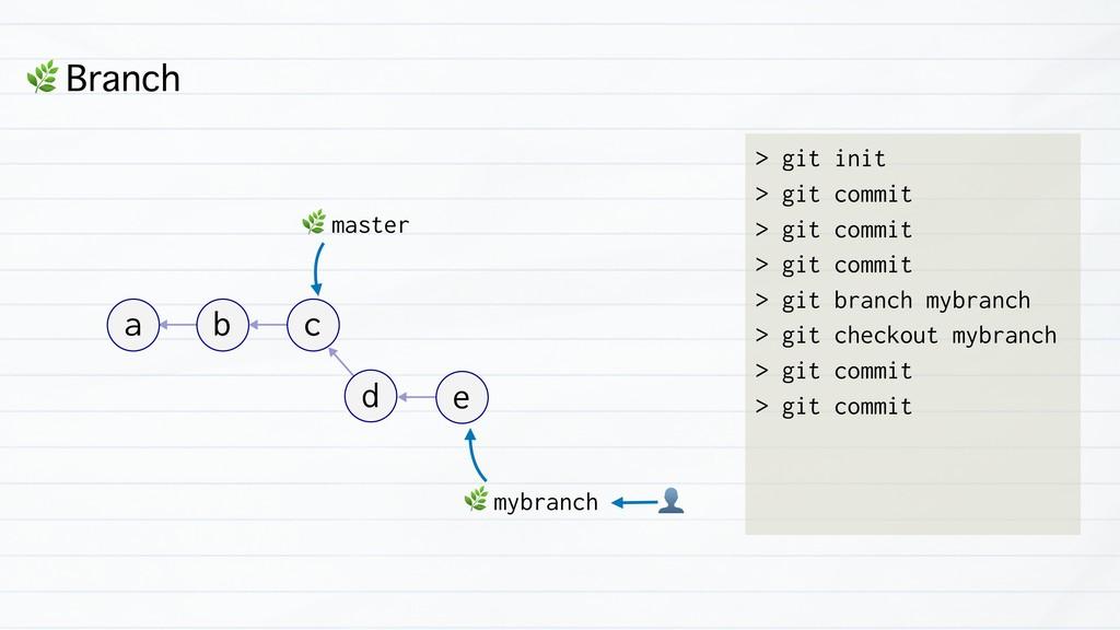 & Branch > git init > git commit > git commit >...
