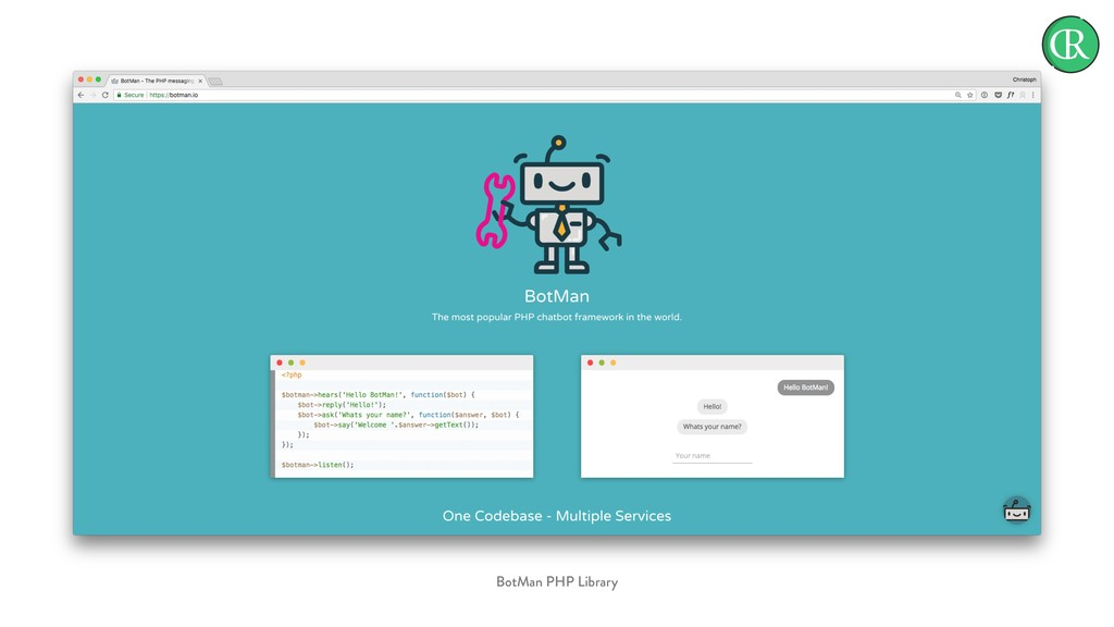 BotMan PHP Library