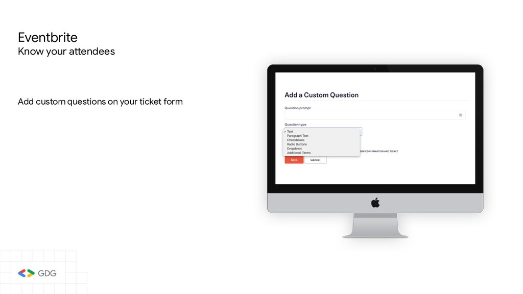 Add custom questions on your ticket form Eventb...