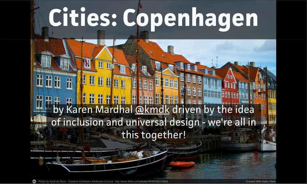 Cities: Copenhagen by Karen Mardhal @kmdk drive...