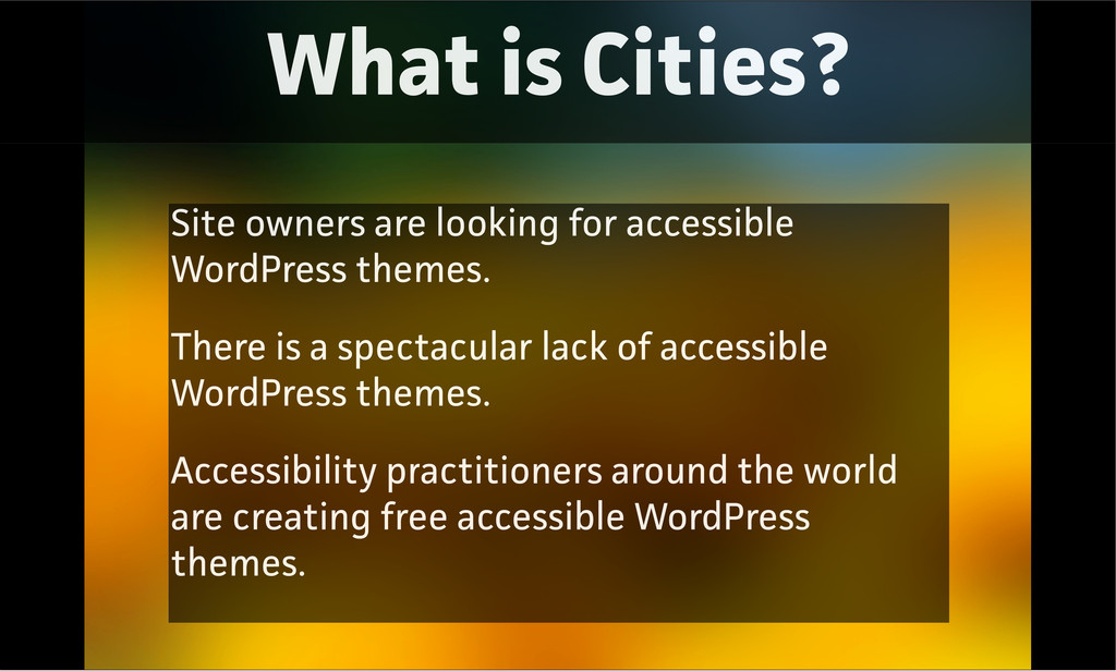 What is Cities? Site owners are looking for acc...