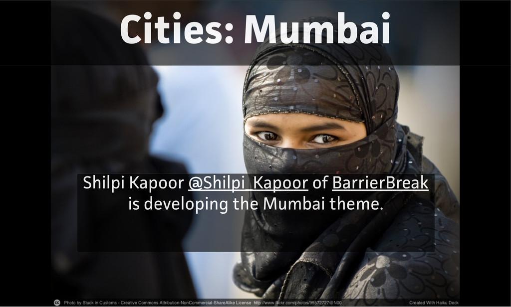 Cities: Mumbai Shilpi Kapoor @Shilpi_Kapoor of ...