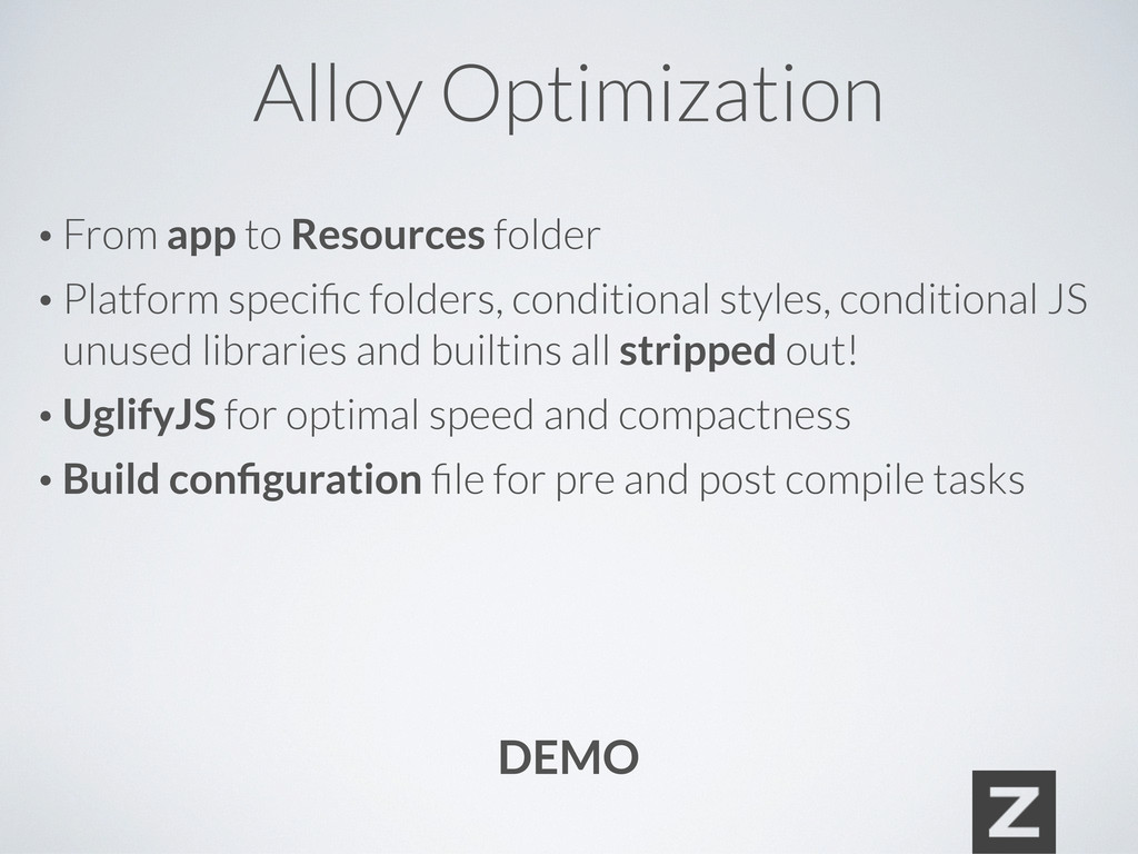 Alloy Optimization • From app to Resources fold...