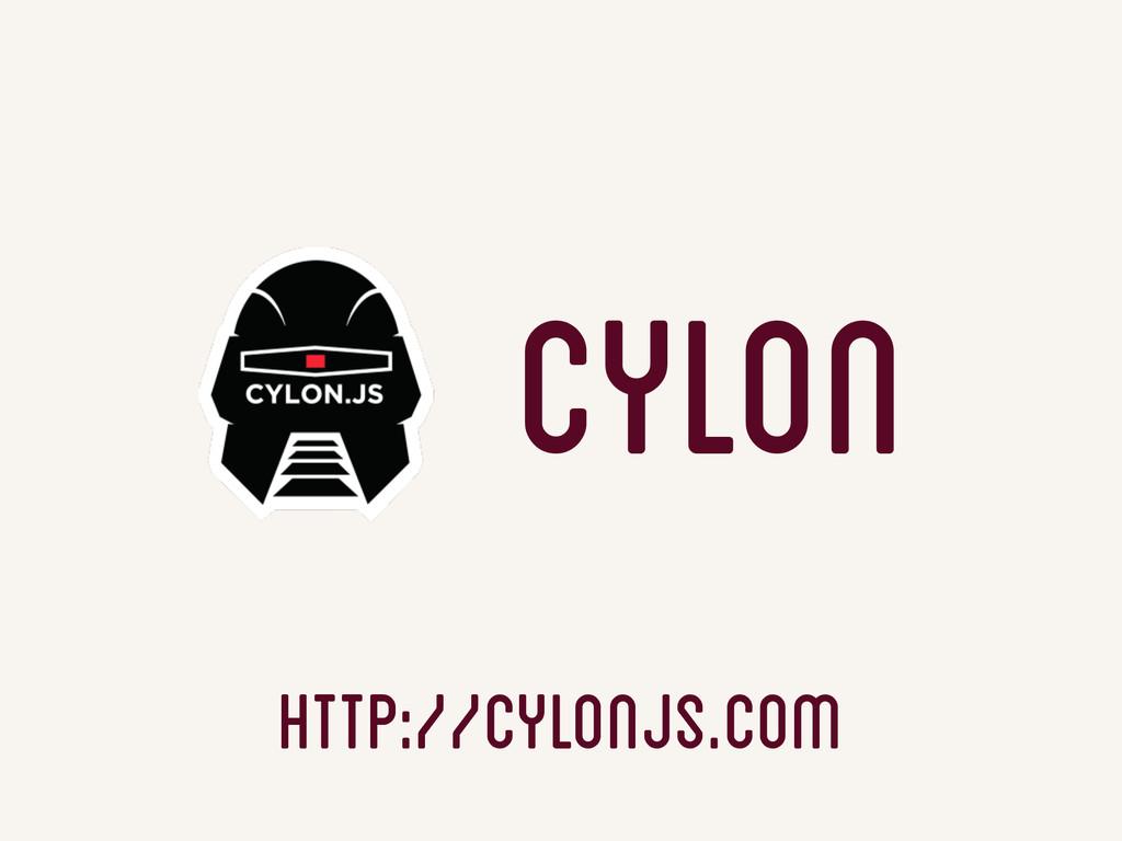 http://cylonjs.com Cylon