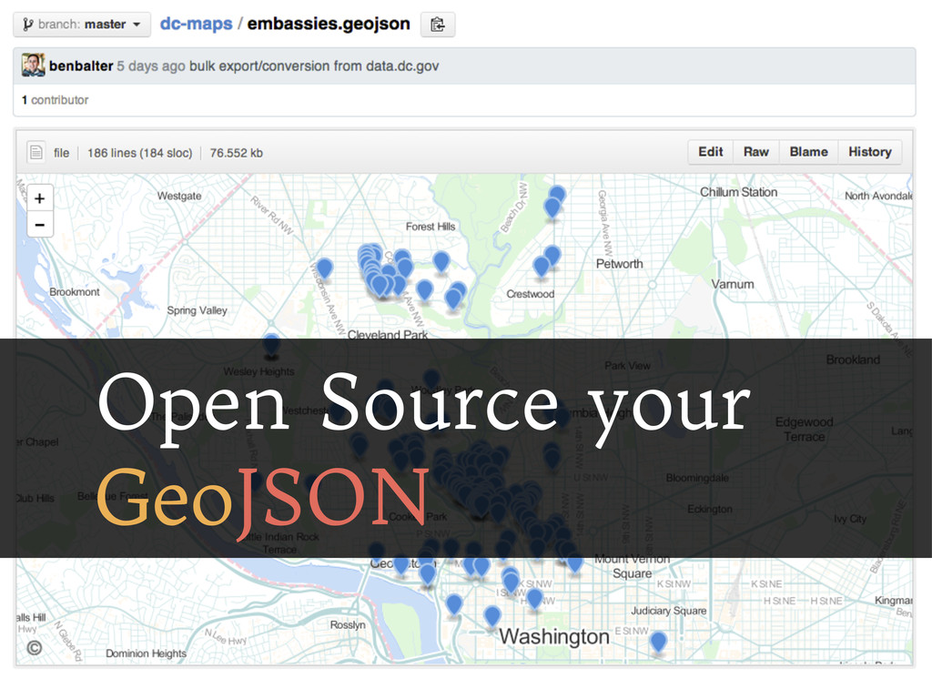 Open Source your GeoJSON