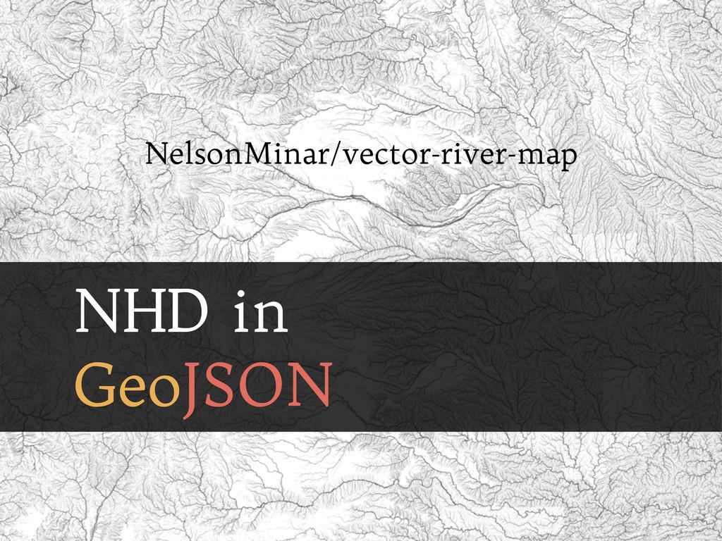 NHD in GeoJSON NelsonMinar/vector-river-map