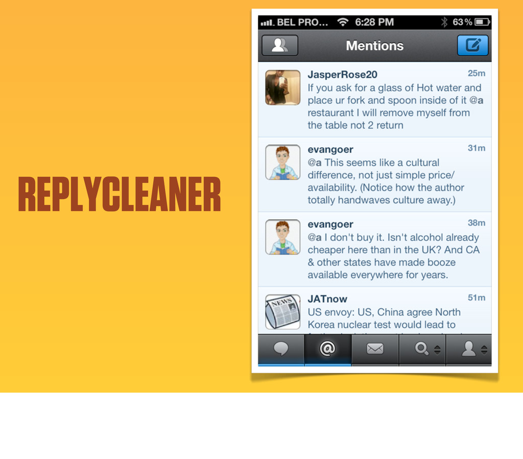 REPLYCLEANER