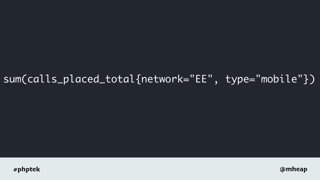 "#phptek @mheap sum(calls_placed_total{network=""..."