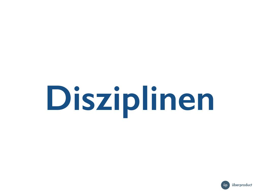 Disziplinen