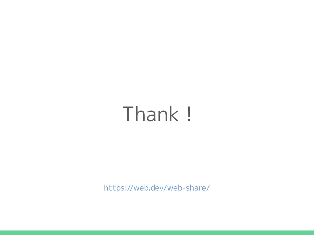 Thank ! https://web.dev/web-share/