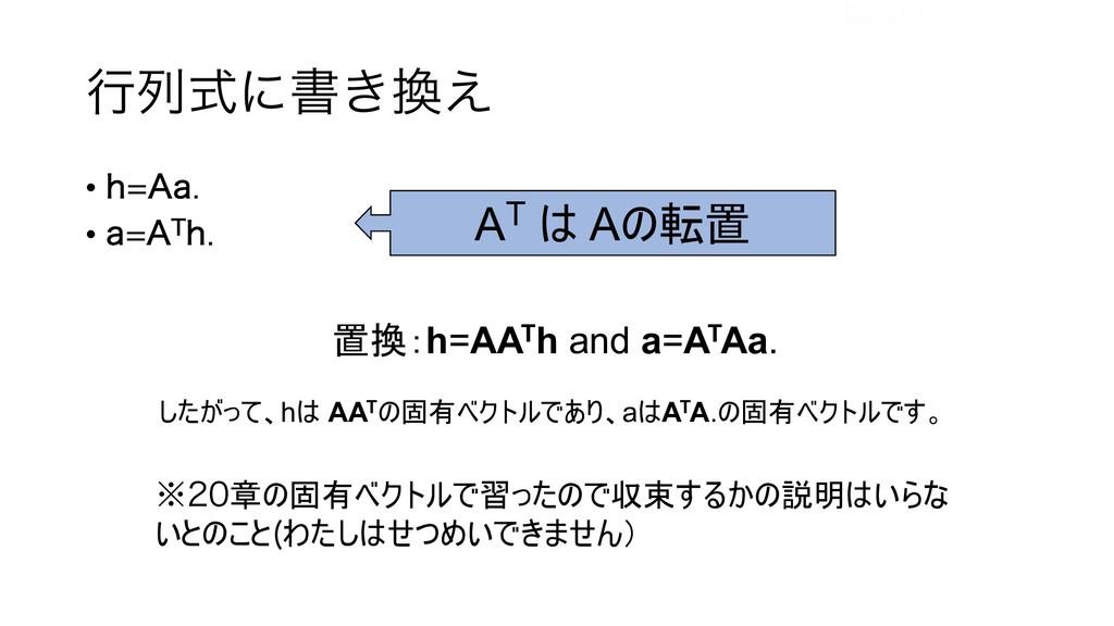 """ߦྻࣜʹॻ͖͑ • I""""B • B""""5I AT  A ,h=AATh a..."""