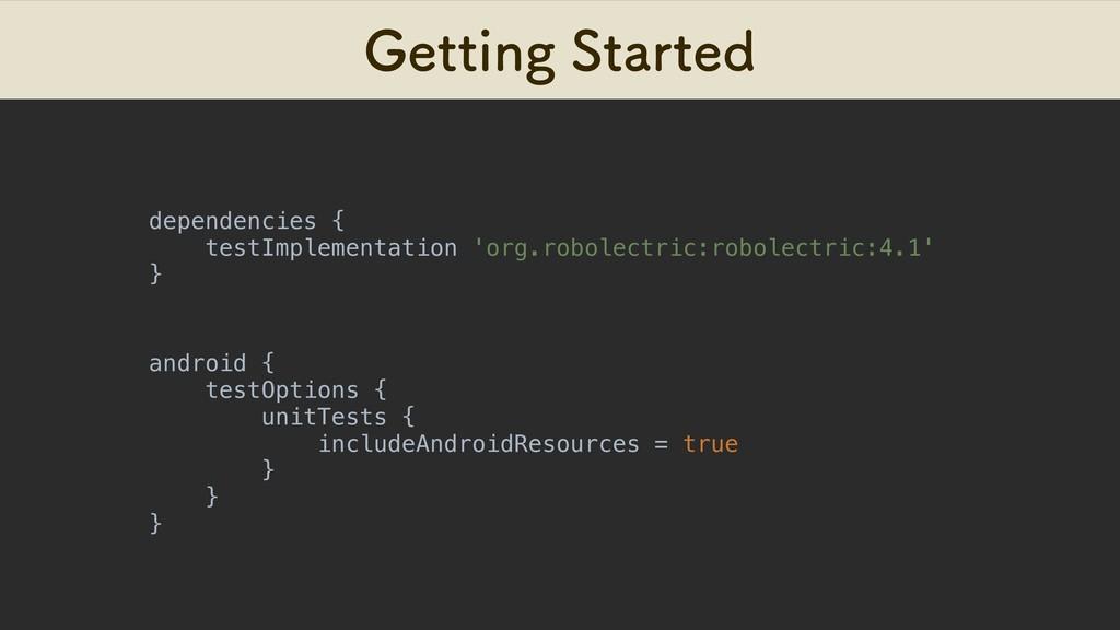 (FUUJOH4UBSUFE dependencies { testImplementati...