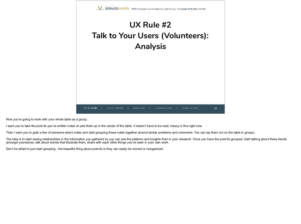 16 UX Rule #2
