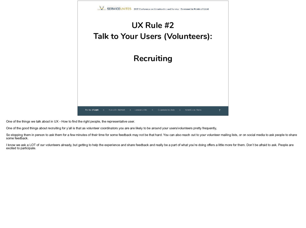 7 UX Rule #2