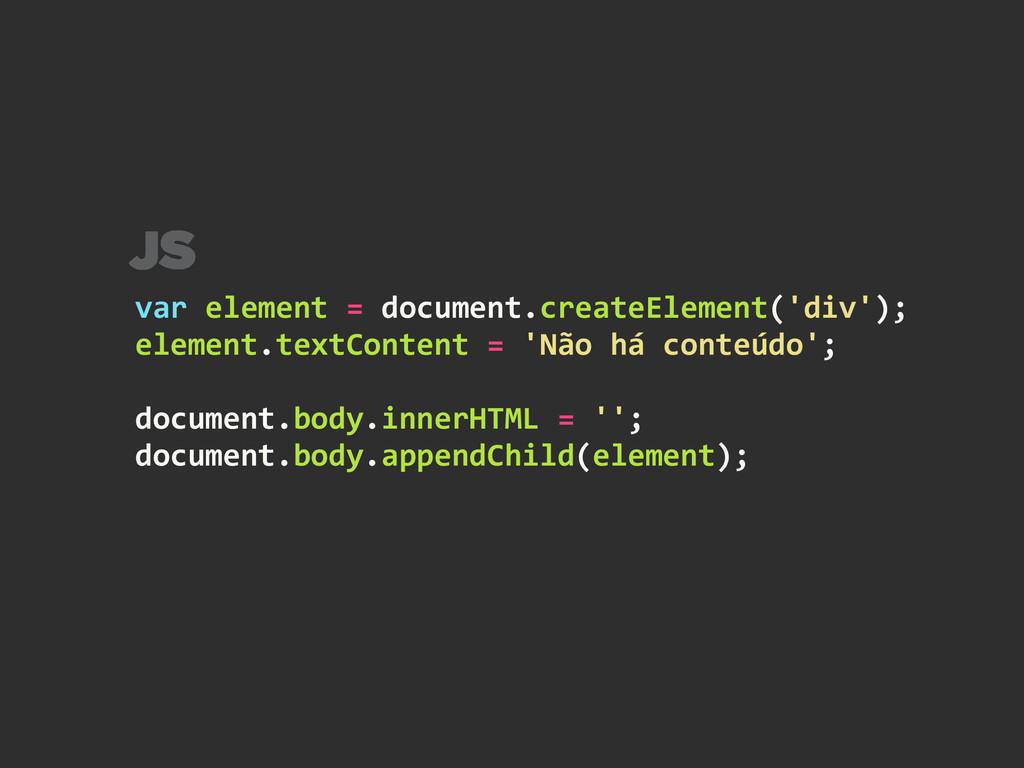 var element = document.createElement('...