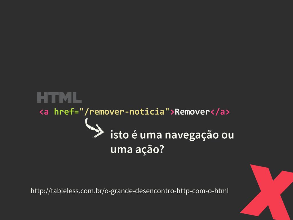 isto é uma navegação ou uma ação? X http://tab...