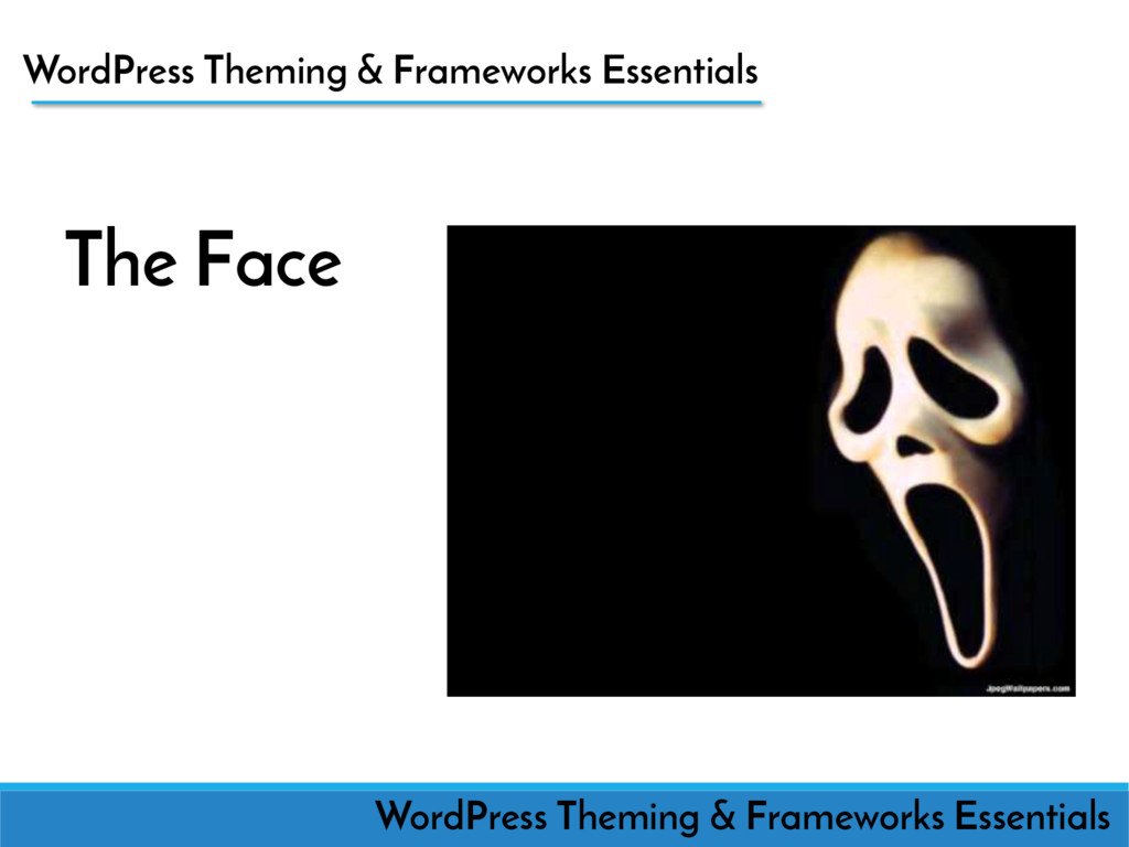 The Face WordPress Theming WordPress Theming & ...