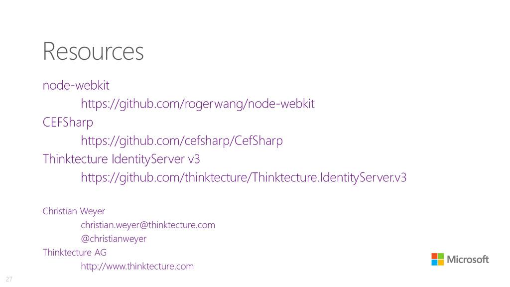 Resources node-webkit https://github.com/rogerw...
