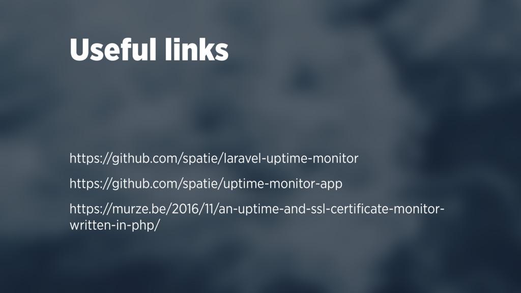https://github.com/spatie/laravel-uptime-monito...
