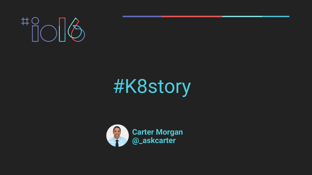 #K8story Carter Morgan @_askcarter