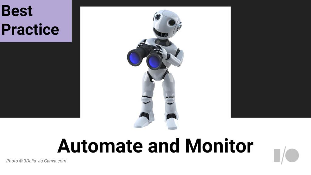 Automate and Monitor Photo © 3Dalia via Canva.c...