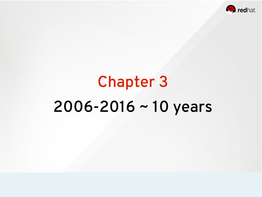 Chapter 3 2006-2016 ~ 10 years