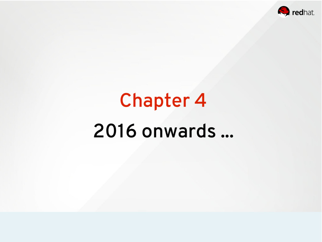 Chapter 4 2016 onwards ...