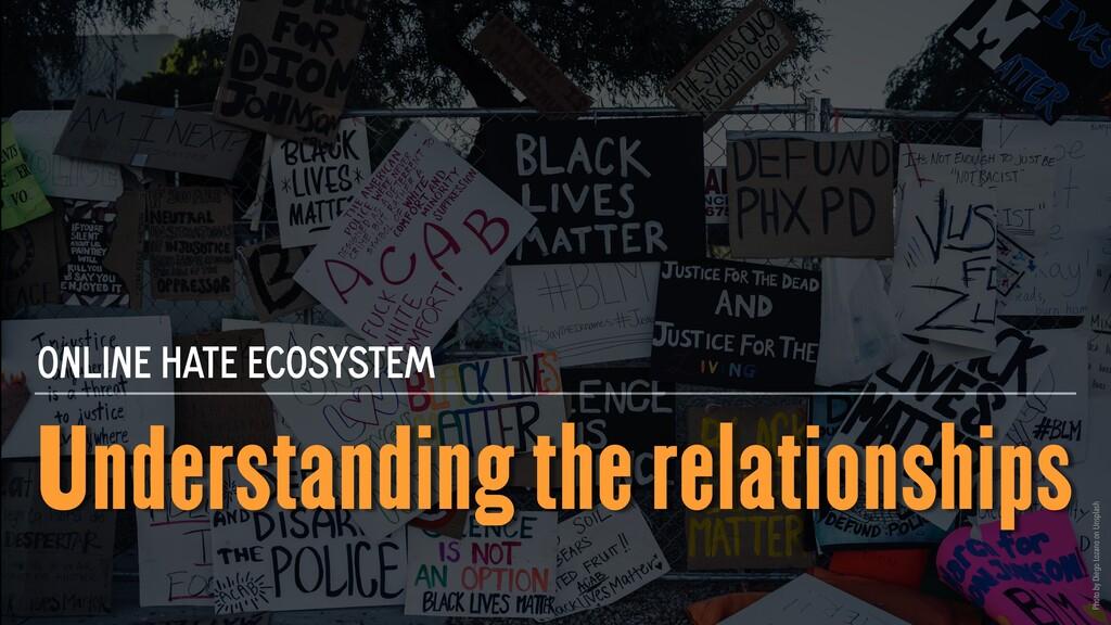 Understanding the relationships ONLINE HATE ECO...