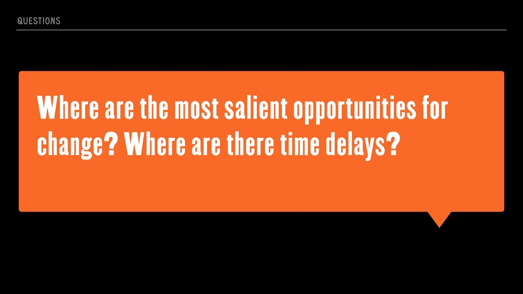 Where are the most salient opportunities for ch...