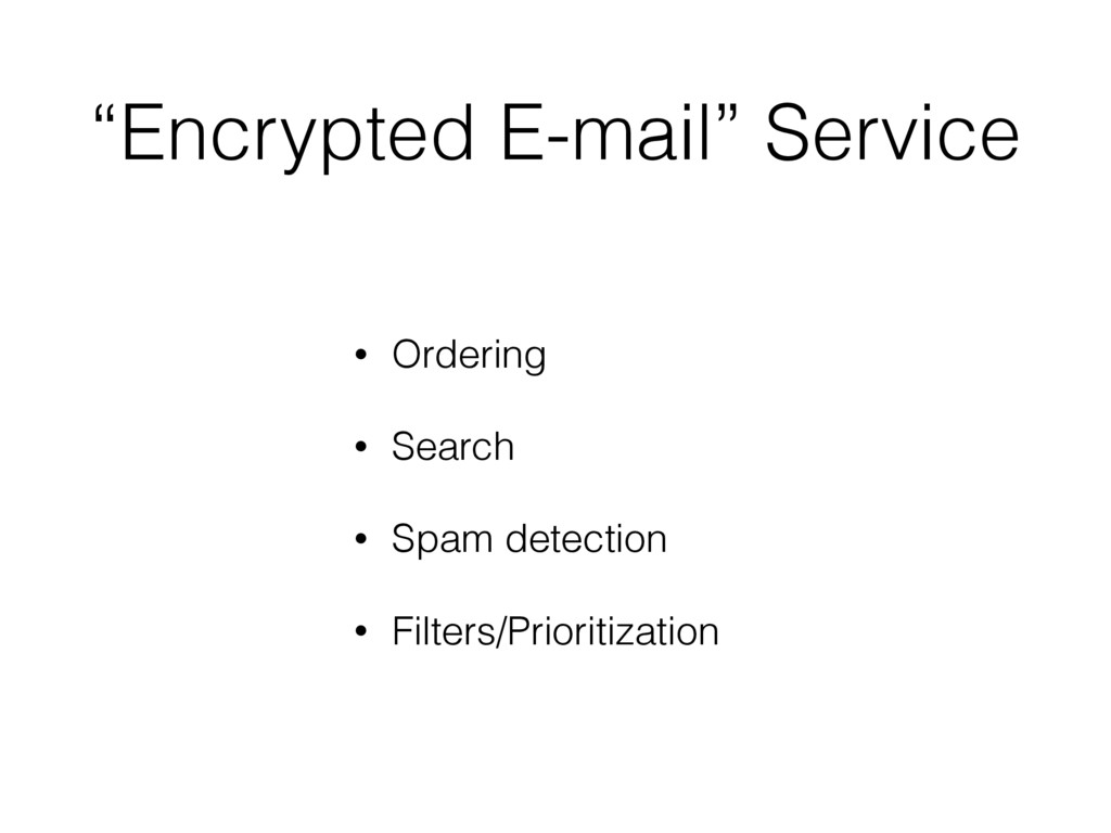 """""""Encrypted E-mail"""" Service • Ordering • Search ..."""